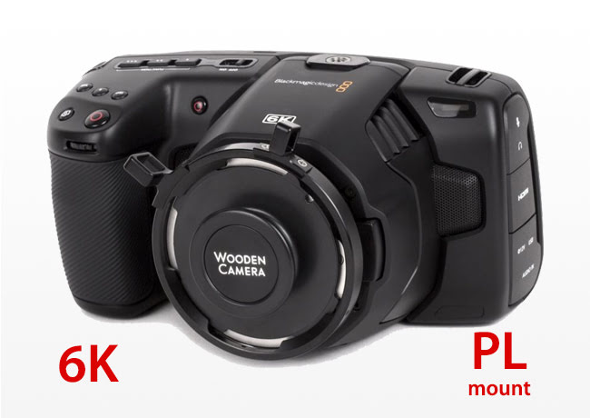 Kiralık Blackmagic Design Pocket Cinema Camera 6K(PL)