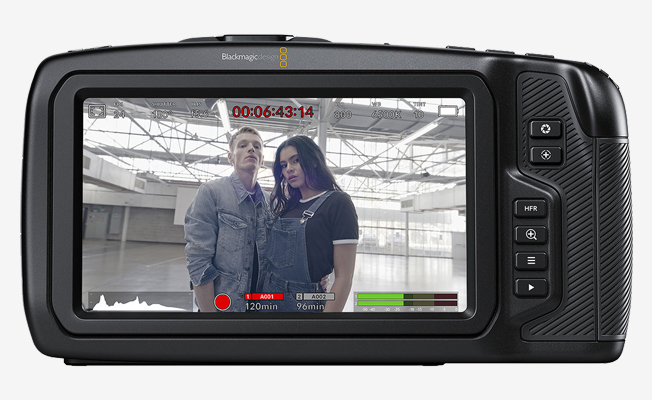 Blackmagic Pocket 6K Kamera Detay
