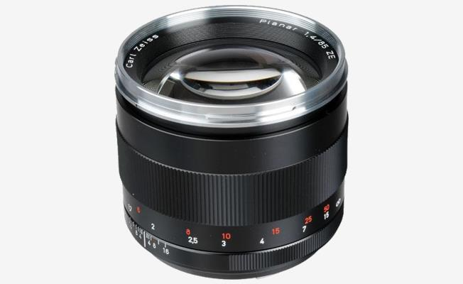 Zeiss ZE 85mm f/1.4 Lens Detay