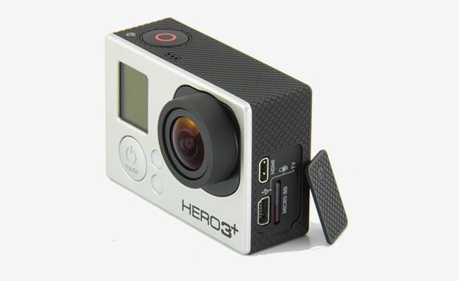 GoPro Hero3 + Black Edition Detay