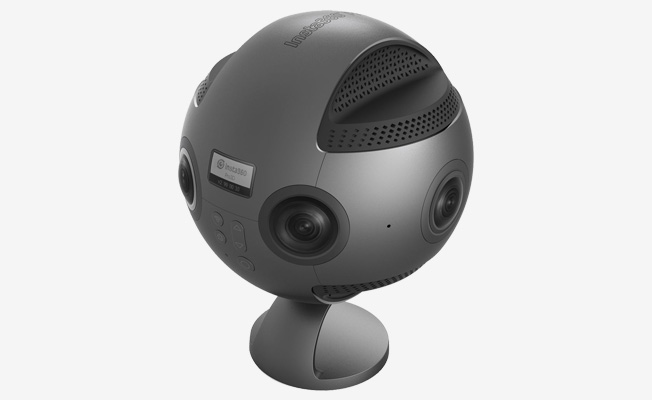 Insta360 Pro Spherical VR 360 8K Camera eklendi