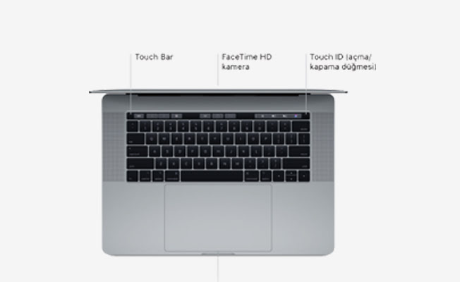 Apple MacBook Pro 15inç 2017 Detay