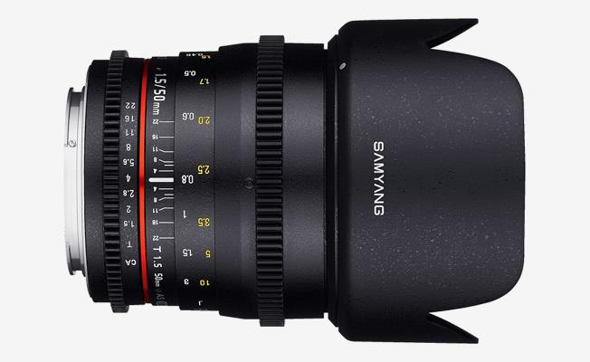 Samyang 50mm f/1.5 AS UMC II Lens eklendi