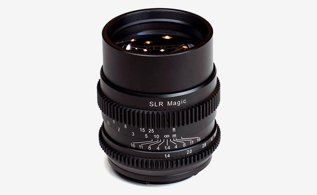 SLR Magic Cine 75mm f/1.4 Detay